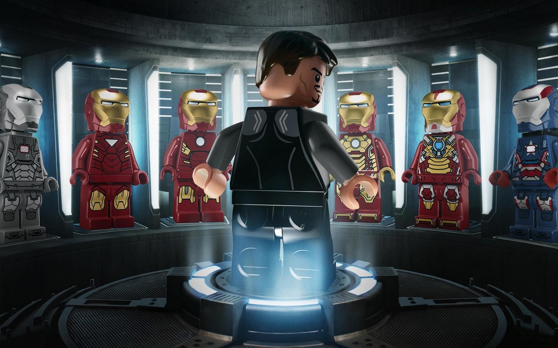 download wallpaper: LEGO Iron Man wallpaper