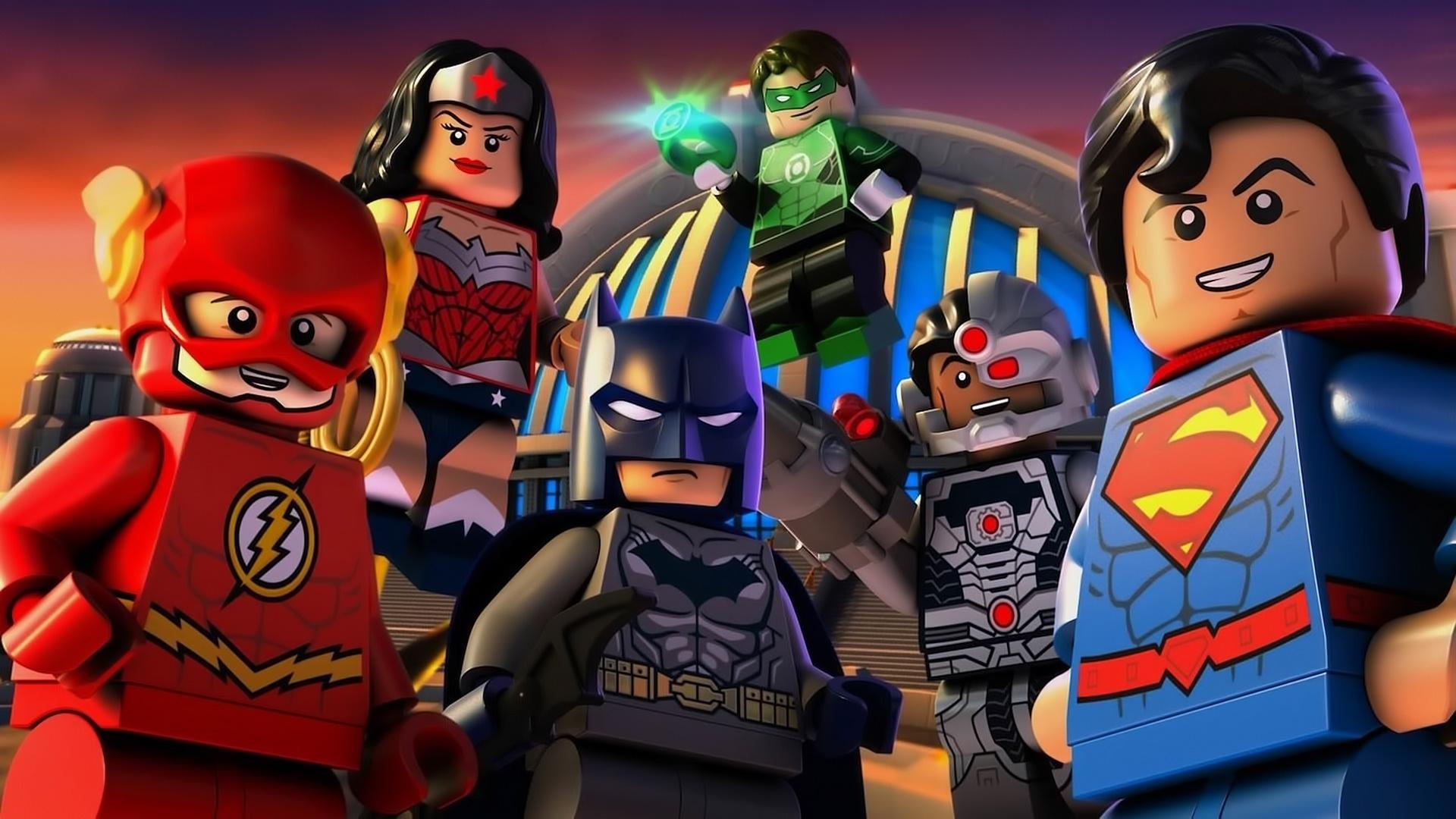 download wallpaper: LEGO Justice League wallpaper