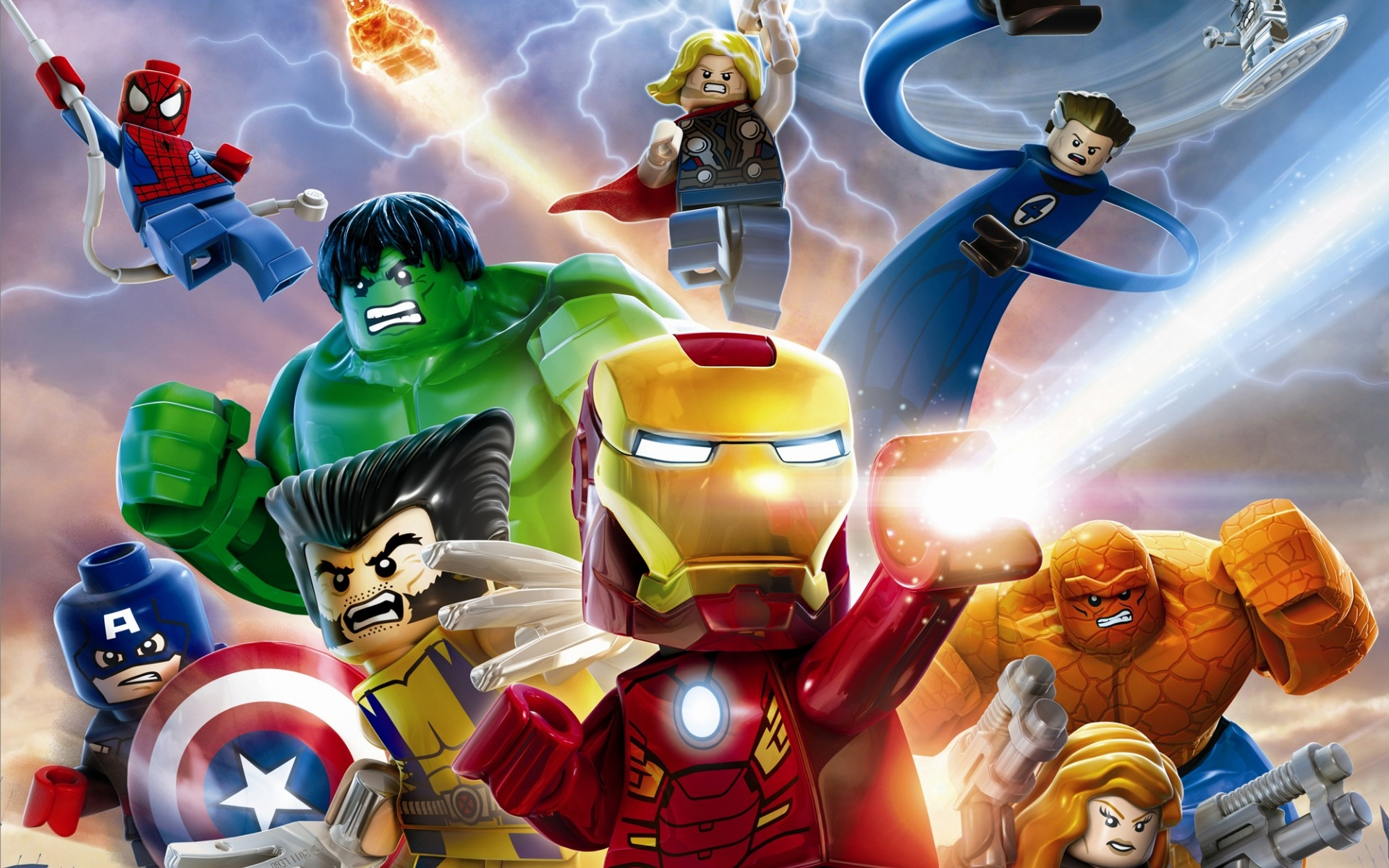 download wallpaper: Lego Marvel Avengers wallpaper