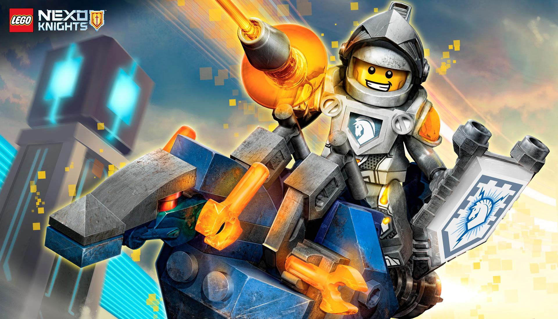 download wallpaper: LEGO Nexo Knights wallpaper
