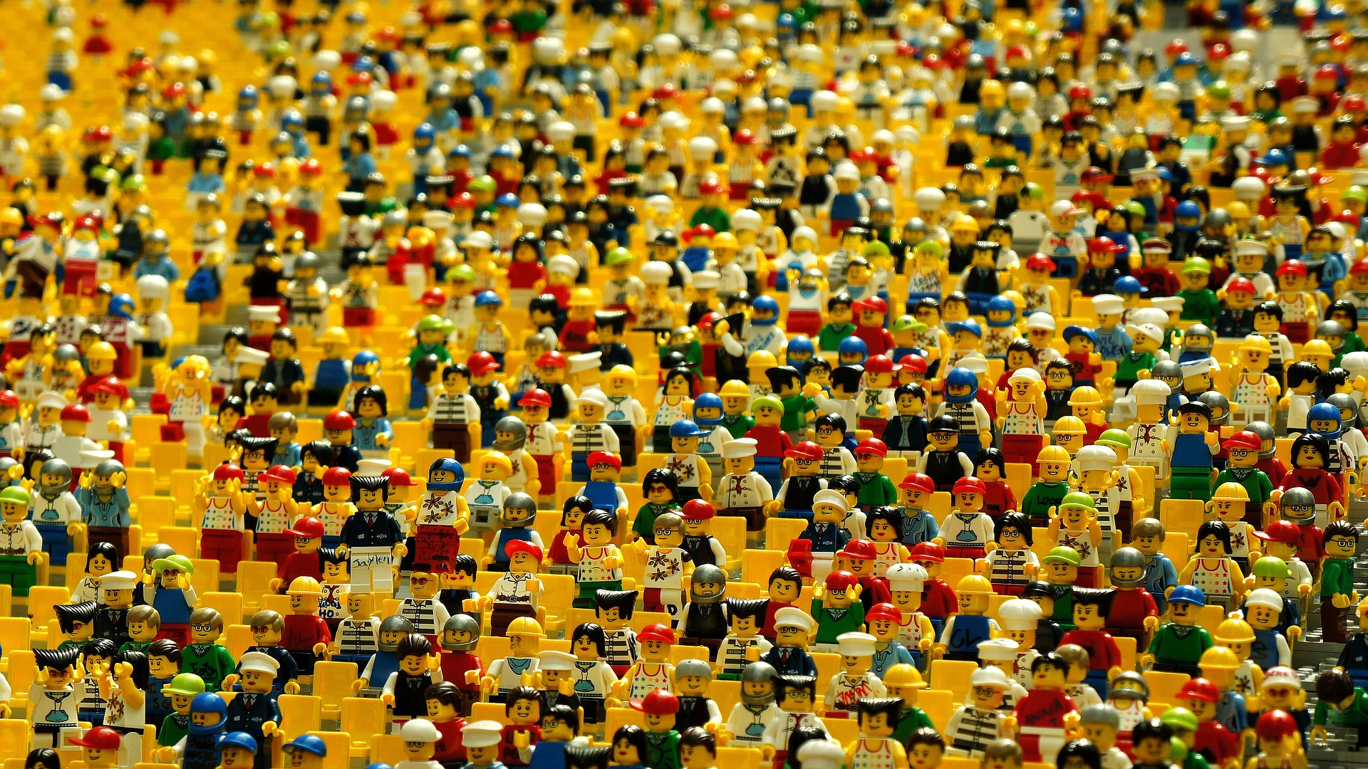 download wallpaper: Lego poppetjes wallpaper
