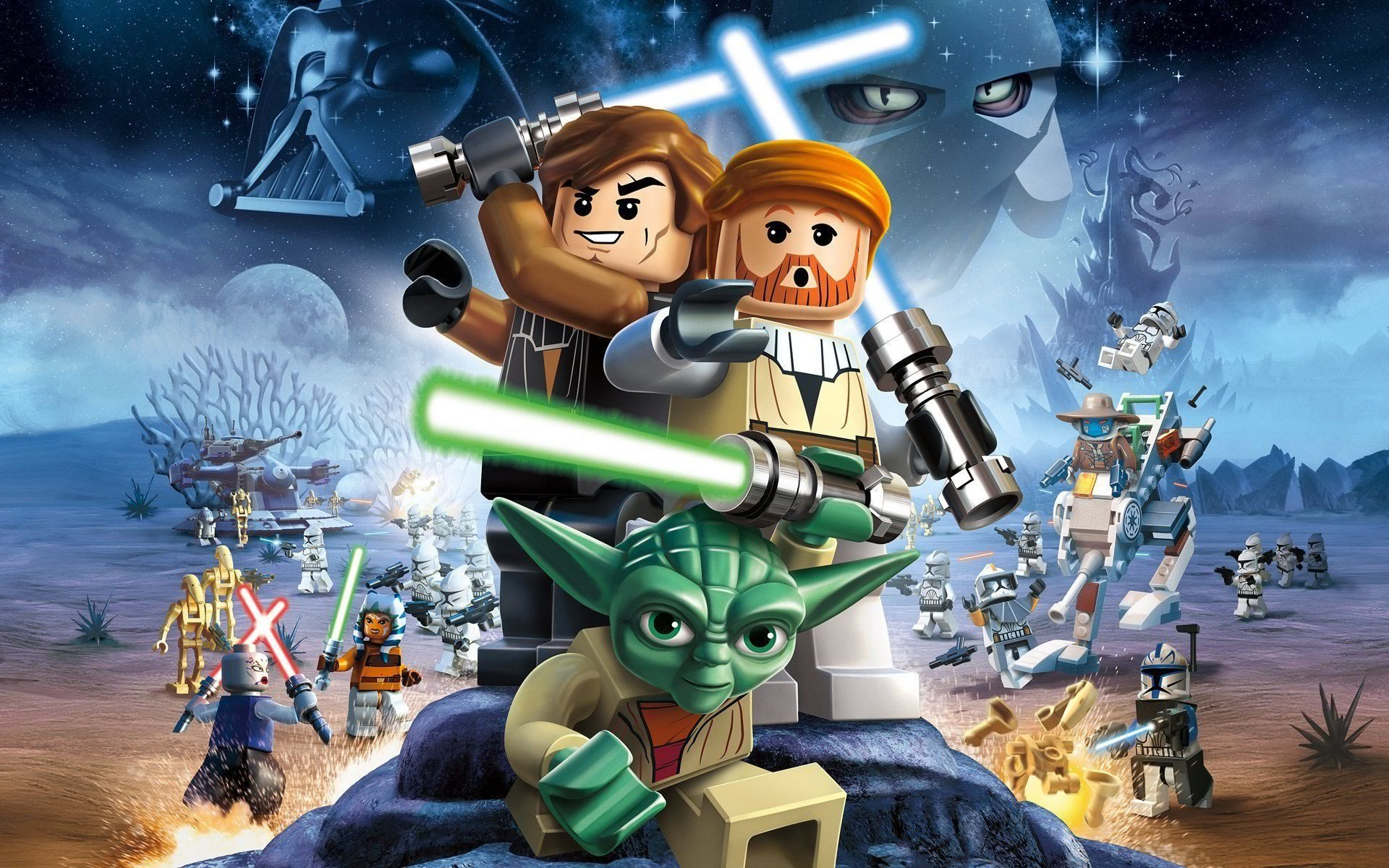 download wallpaper: LEGO Star Wars wallpaper
