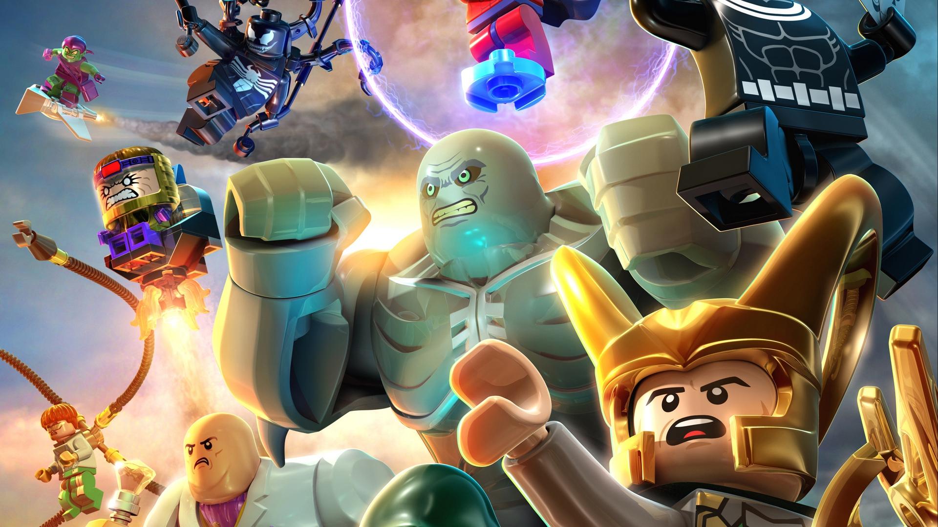 download wallpaper: LEGO Marvel superschurken wallpaper