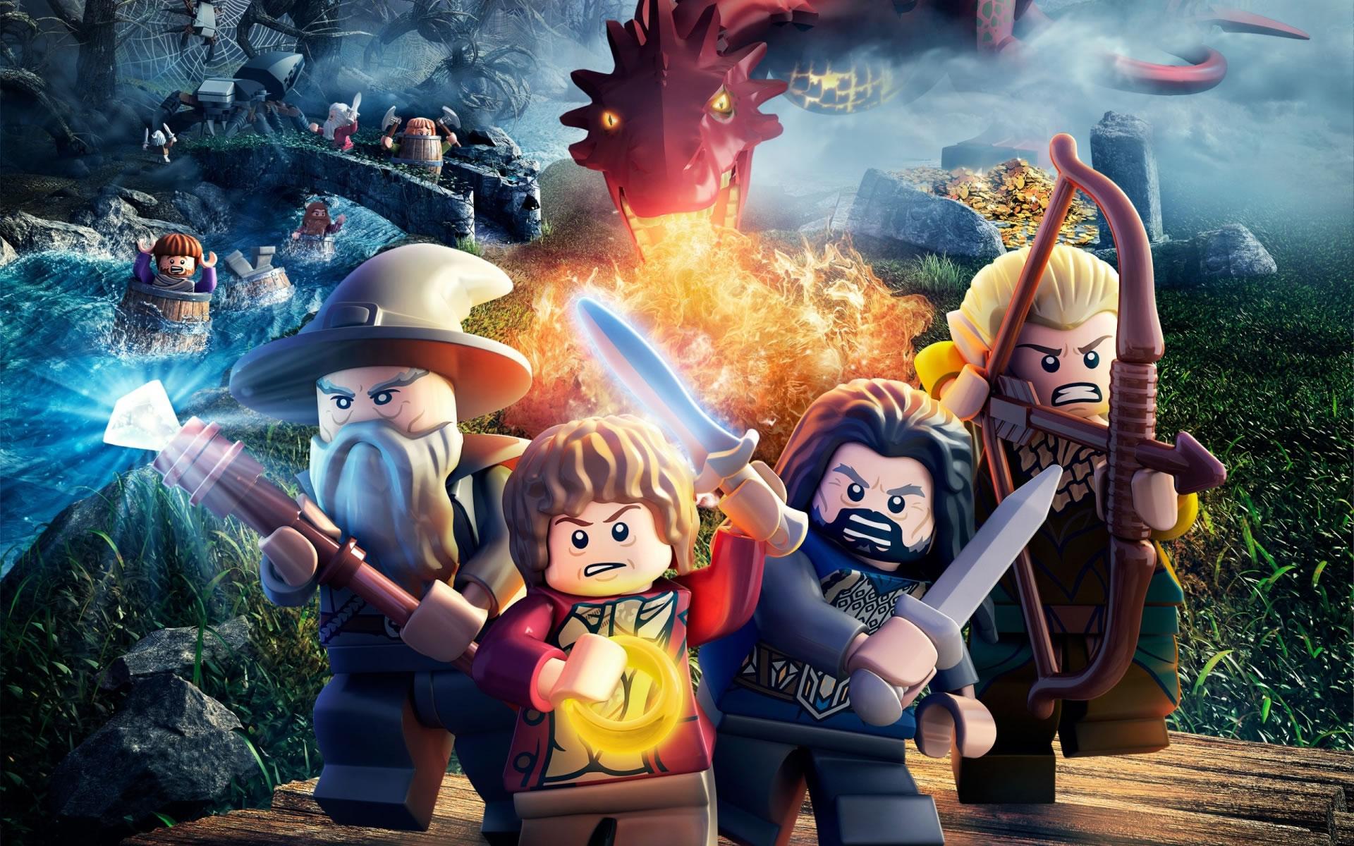 download wallpaper: LEGO – The Hobbit wallpaper