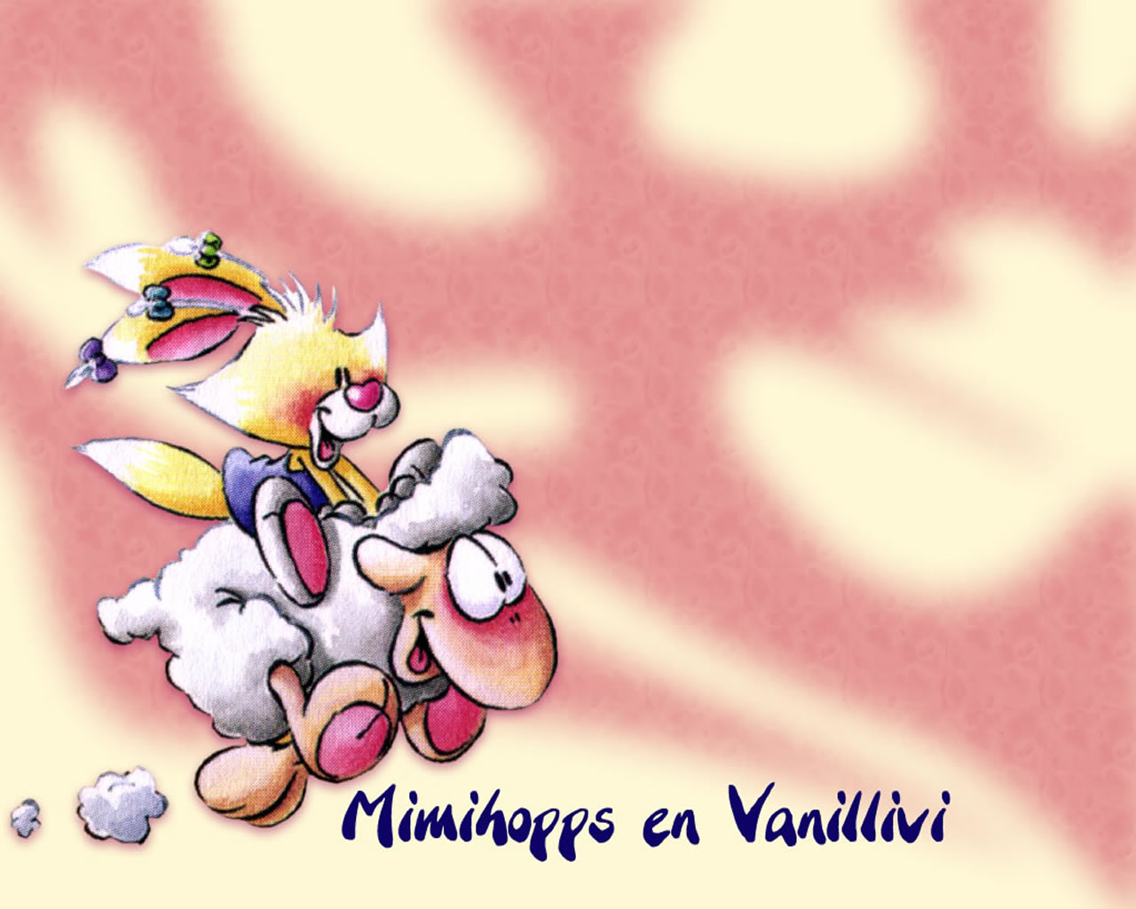 download wallpaper: Mimihopps en Vanillivi wallpaper