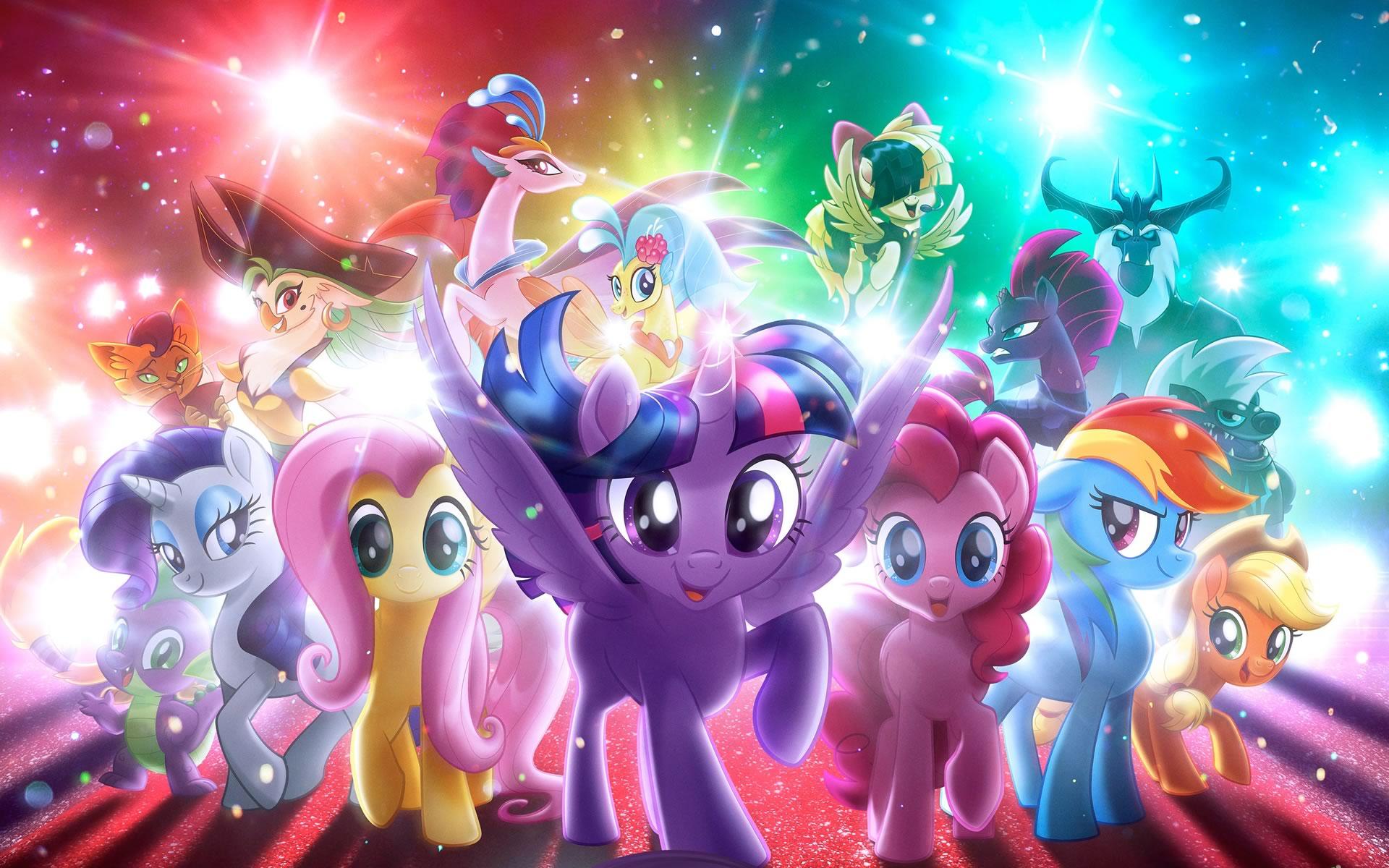 Kleurplaat My Little Pony Kerst Archidev