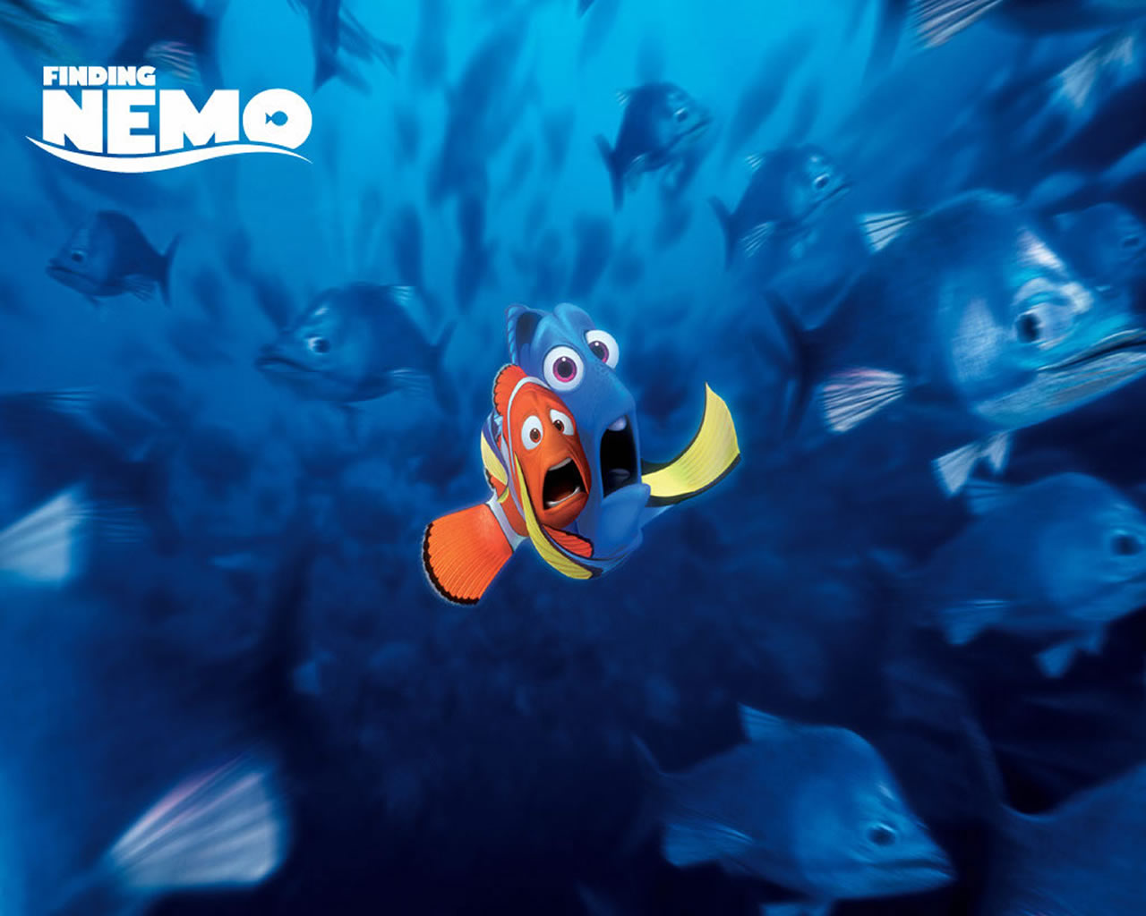 download wallpaper: Nemo en Dori wallpaper