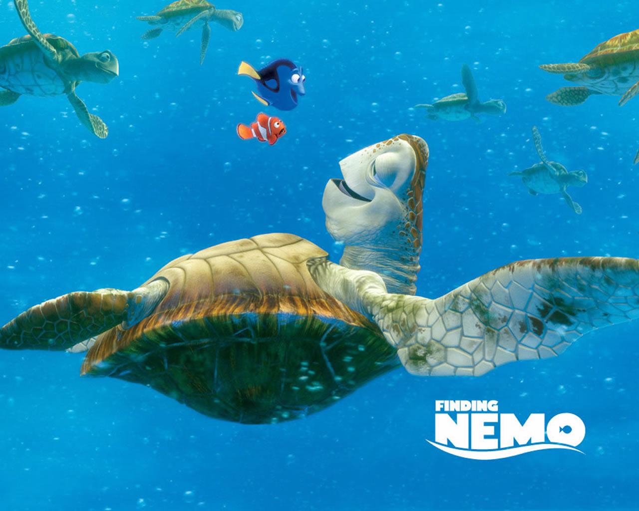 download wallpaper: Nemo in de Golfstroom wallpaper
