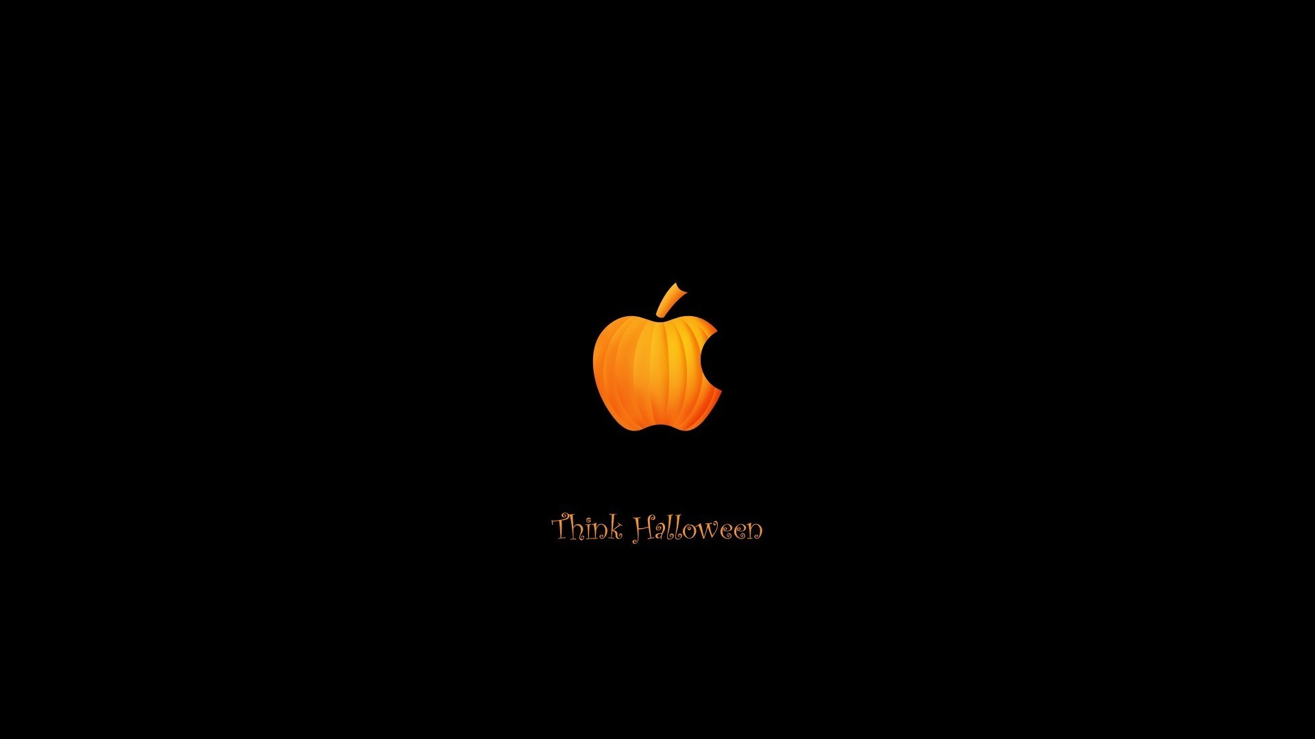 download wallpaper: Think Halloween wallpaper