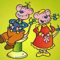 Wizzy en Woppy kleurplaten