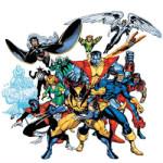 X-Men kleurplaat