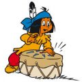 Yakari het indianen jongetje kleurplaten