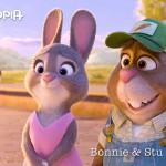 Bonnie en Stu Hopps zijn de konijnenouders van Judy